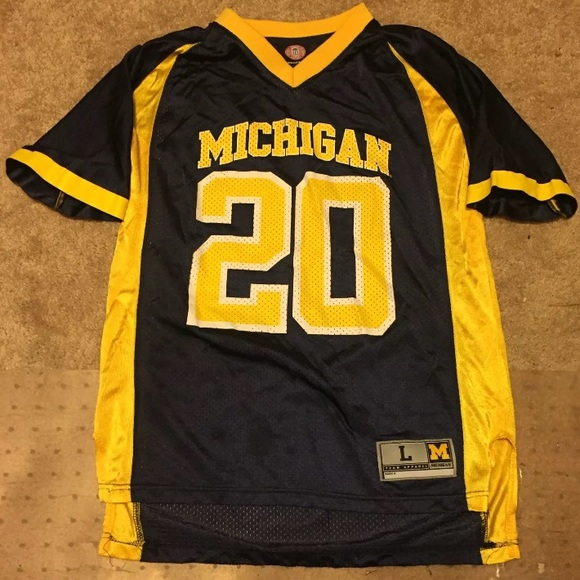 Michigan Wolverines Football Jersey Youth Large. M 5b573e3234a4efe714e1536c cfff1c6dd
